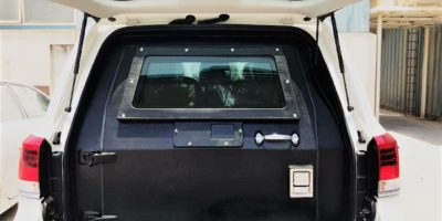 Land Cruiser Bulkhead Installation